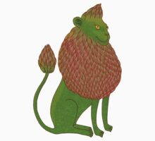 Asparagus Lion, King of the Vegetables Kids Clothes