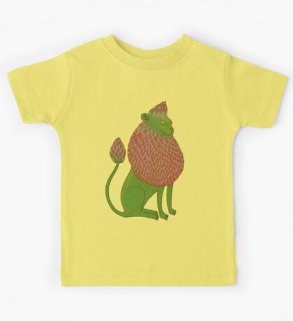 Asparagus Lion, King of the Vegetables Kids Clothes