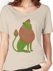 Asparagus Lion, King of the Vegetables Women's Relaxed Fit T-Shirt