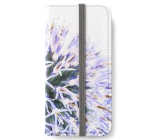 Echinops x ritro, Globe Thistle iPhone Wallet/Case/Skin