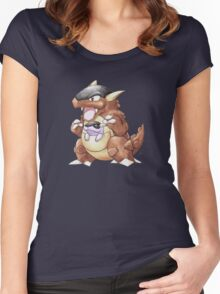Classic Style Kangaskhan Women's Fitted Scoop T-Shirt