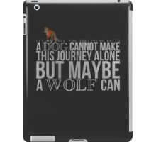 ... A Wolf Can iPad Case/Skin