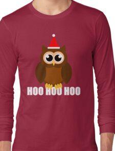 A Very Hooty Christmas Long Sleeve T-Shirt