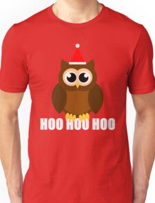 A Very Hooty Christmas Unisex T-Shirt