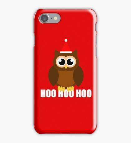 A Very Hooty Christmas iPhone Case/Skin