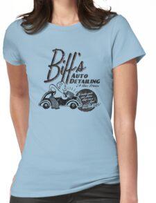 Biffs Auto Detailing Womens Fitted T-Shirt