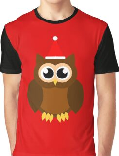 A Very Hooty Christmas (no text) Graphic T-Shirt