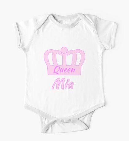 Baby Queen Mia One Piece - Short Sleeve