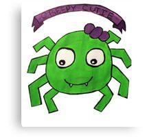 Creepy Cutie Spider  Canvas Print