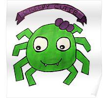 Creepy Cutie Spider  Poster