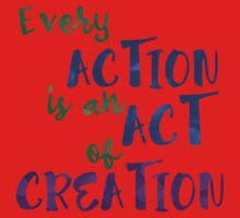 Act of Creation Kids Tee