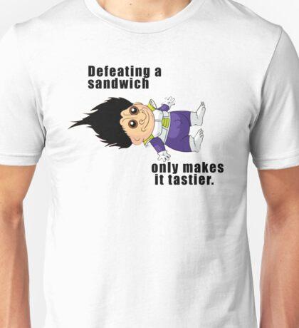Defeating a Sandwich. Unisex T-Shirt