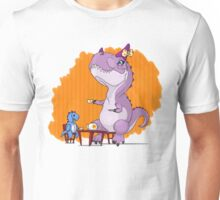 Paleo Kids-Carnotaur Tea Party with Chloe and Spike Unisex T-Shirt