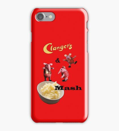 Clangers and Mash iPhone Case/Skin