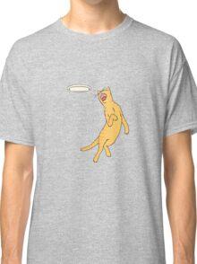 Frisbee Cat Classic T-Shirt