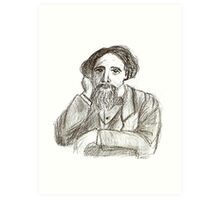 The Great Dickens Art Print
