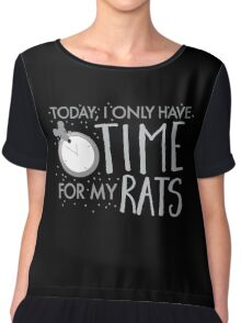 Yoday, I only have time for my RATS Chiffon Top