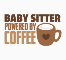 BABY sitter powered by coffee One Piece - Long Sleeve