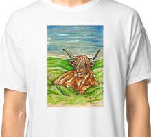 Highland Cow (Inktober) Classic T-Shirt