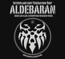Interplanetary Federation Ship Aldebaran Kids Tee