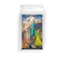 3 of Cups Duvet Cover