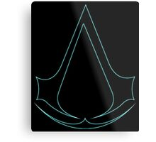 °GEEK° Assassin's Creed Neon Metal Print