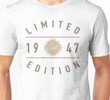 1947 Limited Edition Unisex T-Shirt