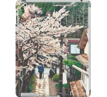 Passing by Cherry Blossoms iPad Case/Skin