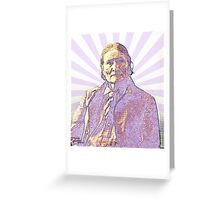 Geronimo - Psychedelic Apache Greeting Card