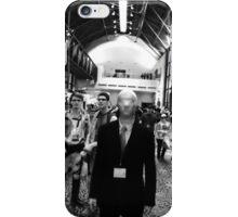 slender man at san japan  iPhone Case/Skin