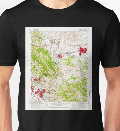 USGS TOPO Map California CA Livermore 298029 1961 62500 geo Unisex T-Shirt