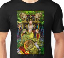 Queen of Pentacles Unisex T-Shirt