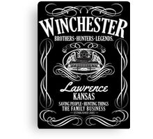 Winchester - American Legends Canvas Print