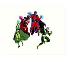 Magneto's Family Art Print