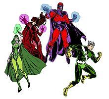 Magneto's Family by istarithegreen