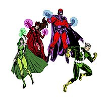 Magneto's Family Photographic Print