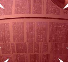 First Order - Vader Death Star Sticker