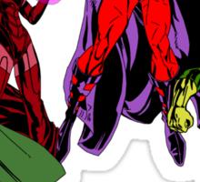 Magneto's Family Sticker