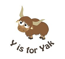Y is for Yak by Eggtooth