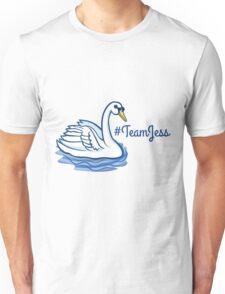 Swan - #TeamJess - Blue Unisex T-Shirt