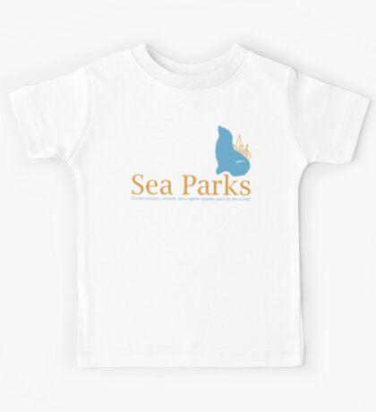 IT Crowd Sea Parks Kids Tee