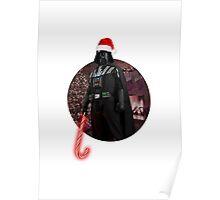Vader Christmas Poster