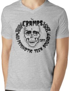 The Cramps Psychotic Teen Sounds Mens V-Neck T-Shirt