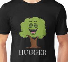 Tree Hugger Happy Tree Emoji Environmentalist T-Shirt Unisex T-Shirt