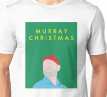 Murray Christmas Card with Bill Murray in The Life Aquatic with Steve Zissou Unisex T-Shirt