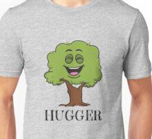 Tree Hugger Happy Tree Emoji Environmentalist T-Shirt V 2 Unisex T-Shirt