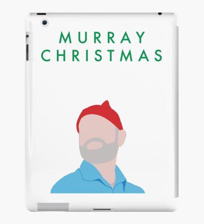 Murray Christmas Card with Bill Murray Illustration iPad Case/Skin
