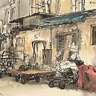 Alley in Tai Hang by Adolfo Arranz