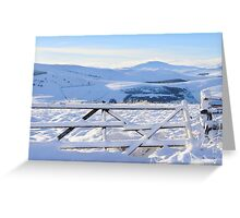 Wintry Morven Greeting Card