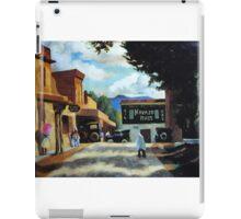 Village mexicain  iPad Case/Skin